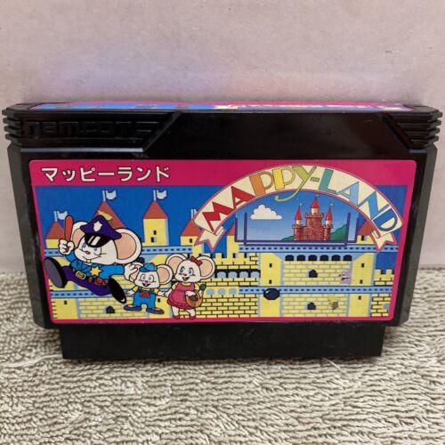 Famicom Mappy Land Japan Japanese Import FC Game US Seller Rare Retro - $10.99
