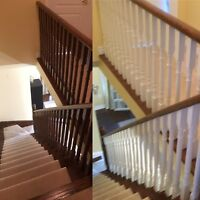>>>> Staircase and railing renovations <<<<