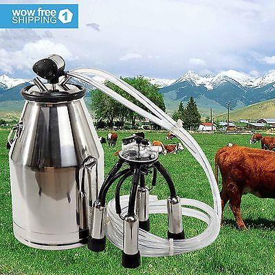 Milk Bucket 304 Stainless Steel Cow Milker Dairy Cow Milking Equipment Quality
