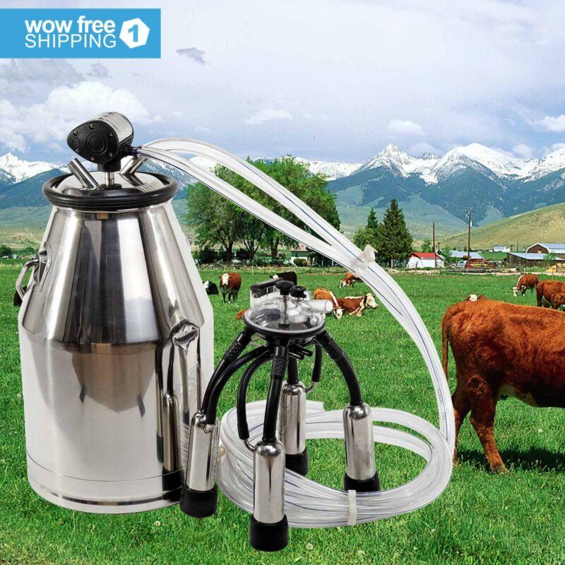 Stainless Steel Milk Bucket Cow Milker Dairy Cow Milking Equipment Quality