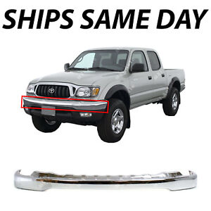 NEW Chrome Front Bumper - for 2001 2002 2003 2004 Toyota Tacoma Pickup TO1002174