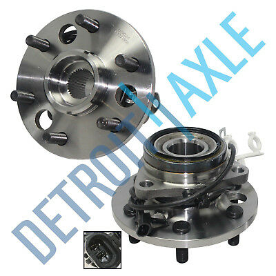 2 Front Wheel Bearing Hub for 1995-1999 Chevy GMC K1500 Suburban Yukon 6-Lug 4x4 (4x4 Wheel Hub Bearing)