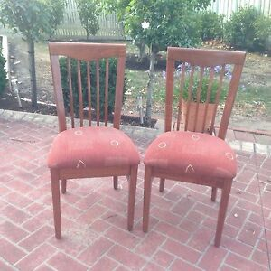 Hi back dining chairs x 4 Berwick Casey Area Preview
