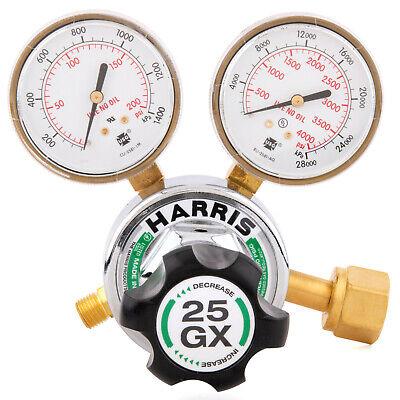 Harris Model 25gx Single Stage Oxygen Regulator 25gx-145-540 3000510