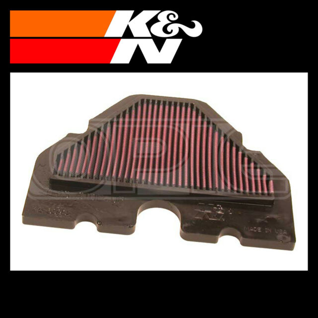 K&N Air Filter Replacement Motorcycle Air Filter for Kawasaki ZZR600 | KA-6093