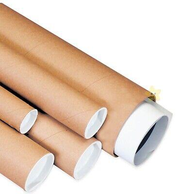 25 x A4 Postal Tubes 240mm x 50 mm (9
