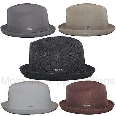 (Authentic Kangol Tropic Player Fedora Trilby Hat Cap 6371BC S-XL)