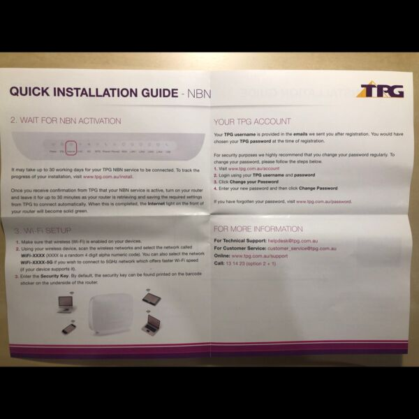 Brand new Modem Router NBN Wifi | Other Electronics