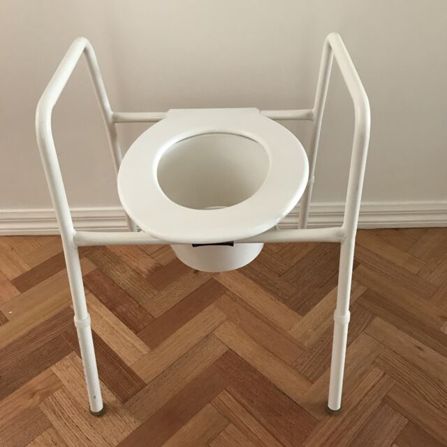 Commode Chair, Over Toilet Seat   Other Home & Garden   Gumtree ...