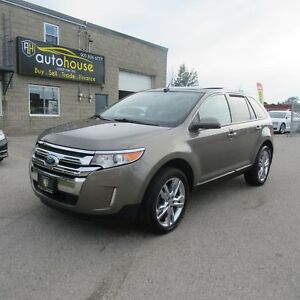 2013 Ford Edge SEL V6 3.5, LEATHER, PANORAMIC ROOF, BLUETOOTH...