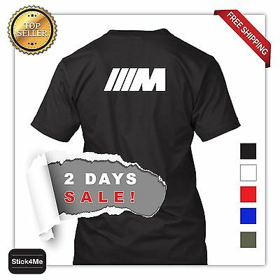 Bmw M3 M5 M Logo Car Racing T Shirt High Quality Sports Car Lover 2 Days Sale