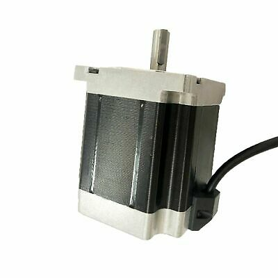 1pcs Nema 34 Stepper Motor 1600 Oz.in 6a 2.58v Key Way Shaft 126mm Cnc Kits