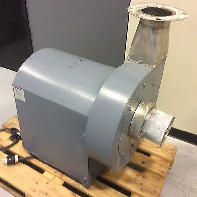 Centrifugal Blower Unit 2hp 6inout 14dia. Impeller
