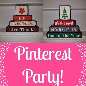 Fall Pinterest party