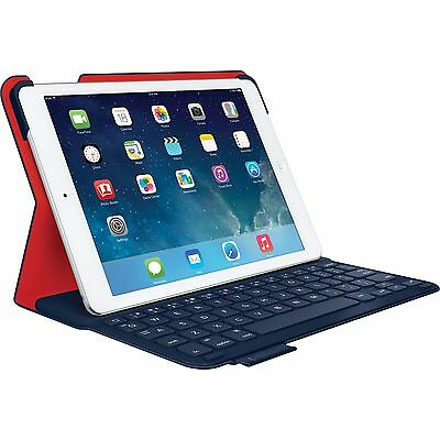Logitech Ultrathin Wireless Folio Keyboard Case iPad Air 1 - Midnight Navy Blue