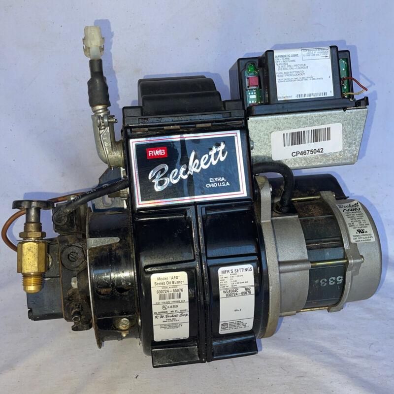 BECKETT OIL BURNER UNIT MODEL AF AFG - Honeywell Igniter for Boiler / Furnace
