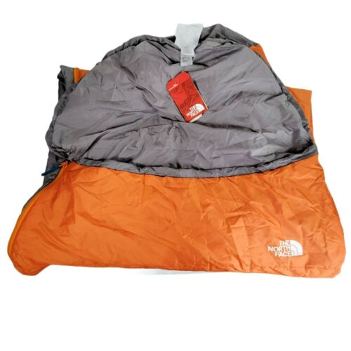 The North Face Wasatch 55 Orange Gray Sleeping Bag