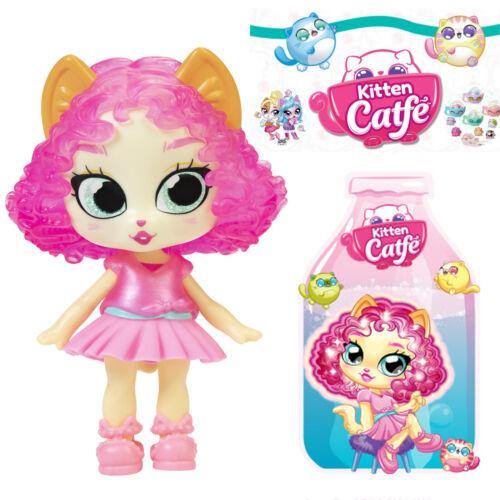 Jakks Series 5 Soda Pop MEOWLERY FRESA Kitten Catfe *Light Up Hair* Doll Yellow