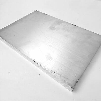 .75 Thick 34 Aluminum 7075 T651 Plate 8.875 X 13.375 Long Sku 208478
