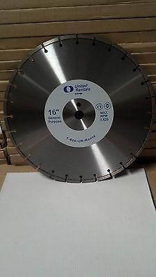 New 16x125 Diamond Concreteasphaltblockbrick Blade