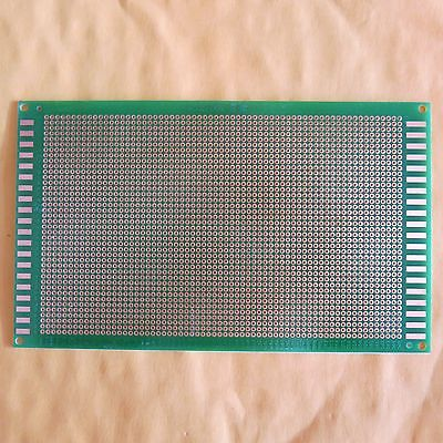 5x Pitch 2.0mm 9x15cm Stripboard Pcb Single Side Circuit Board Prototype Paper