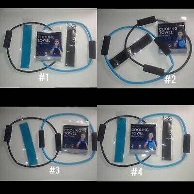 HOT SALE! Resistance Bands+Cooling Towel+Resistant loop