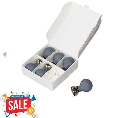 Contec Universal Chest Suction Cup Bulb Ecgekg Ball Electrode Adult6pcsblue