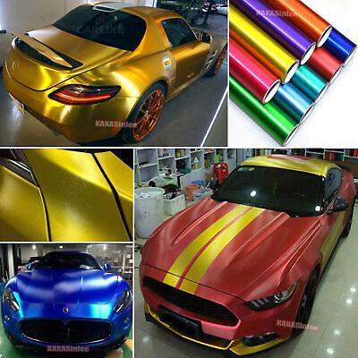 - Car Satin Brushed Metal Steel Texture Chrome ALUMINUM Vinyl Wrap Sticker - ABUS