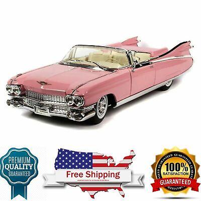 diecast model 1959 Cadillac Eldorado Biarritz Convertible, Pink 1/18 scale