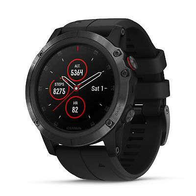 Garmin 010-01989-00 Fenix 5X Plus, Ultimate Multisport GPS S