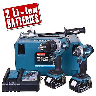 MAKITA DLX2176TJ 18v Li-ion 5.0Ah Cordless Brushless 2 Piece Kit