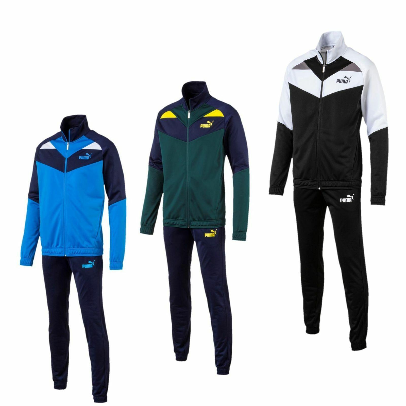 1dccdf4ca8ee9 ... Puma Jogginganzug Herren Jogging Anzug Sportanzug Trainingsanzug Männer  blau