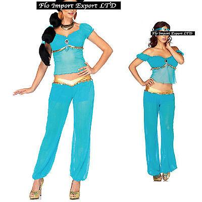 Jasmine Vestito Carnevale Donna Dress up Woman Jasmine Oriental Costume - Oriental Dress Up Kostüm