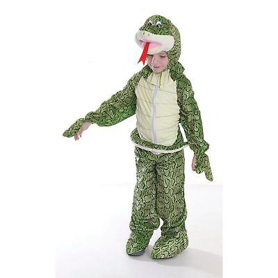 BOYS GIRLS KIDS SNAKE BIG HEAD FANCY DRESS - Snake Girl Kostüm