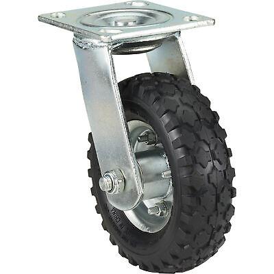 Ironton 6in. Swivel Pneumatic Caster - 200-lb. Capacity Knobby Tread