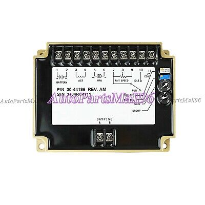 3044196 New Engine Governor Speed Controller Generator Speed Control Unit