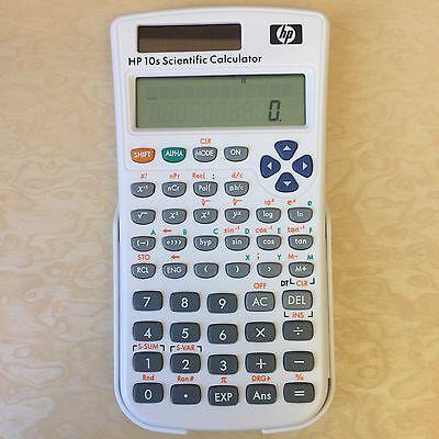 Hp 10S Algebraic Scientific Calculator