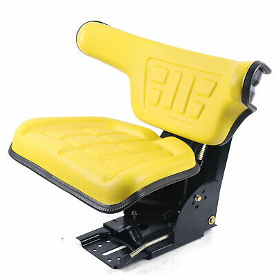 Fits Yellow John Deere 2140 2150 2155 2240 Tractor Waffle Style Suspension Seat