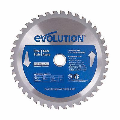 Evolution 7-12 Mild Steel Blade 7-12bladest