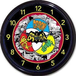 Batman Robin Super Hero Gotham DC Retro Wall Clock Classic Comics Movie New 10