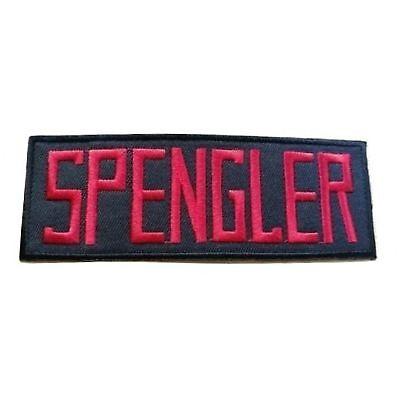 Ghostbusters Egon Spengler Name Abzeichen Bügel Patch Cosplay Kostüm - Egon Spengler Kostüm