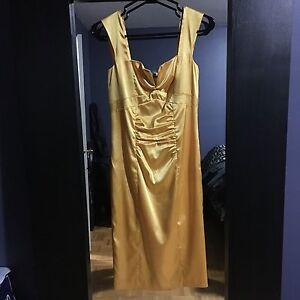 LE CHATEAU SATIN DRESS