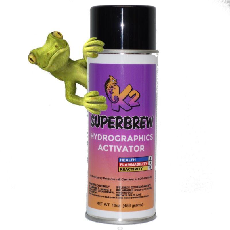 HYDROGRAPHIC ACTIVATOR K2 SUPER BREW Aerosol spray can cooler then hydrovator