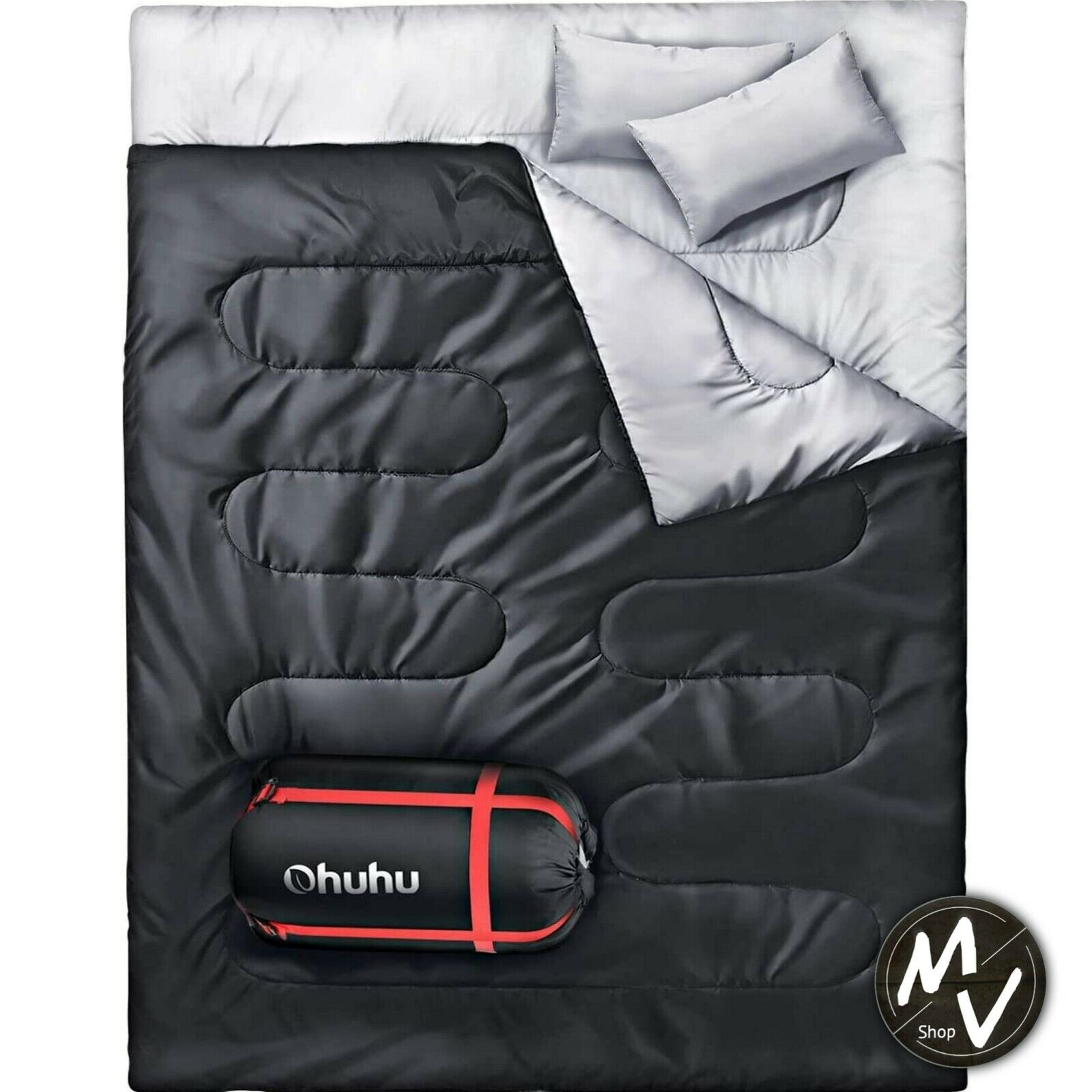 Easy to Carry Suitable for 3-4 S Double Sleeping Bag//Super Large Sleeping Bag