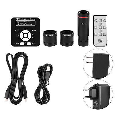 41mp Hdmi Usb Hd Video 5x Digital Zoom Industrial Microscope Camera Recorder