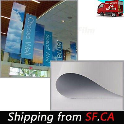 Heavy-Duty Blockout Double Sided Printing Vinyl - Printed Banners