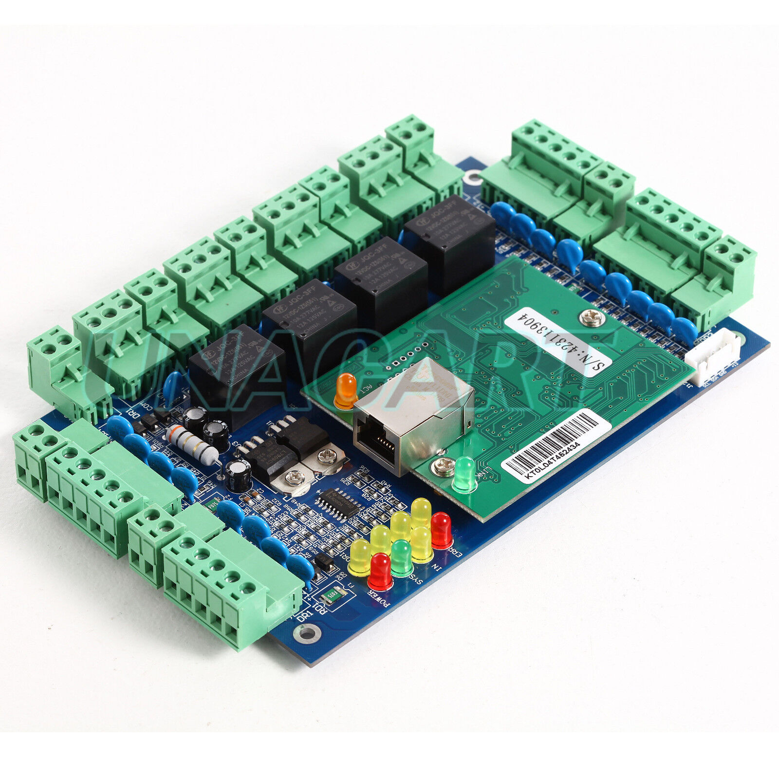 NETWORK ACCESS CONTROL Controller Board 220V 230V Power Box For 4 ...
