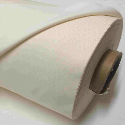 BLACKOUT CURTAIN LINING FABRIC  3 PASS IVORY  THERMAL MATERIAL SOLD PER METRE