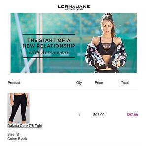 Lorna Jane Tights East Maitland Maitland Area Preview