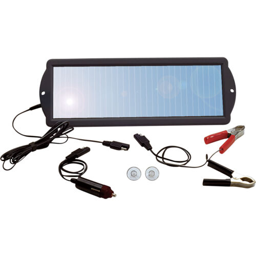Car RV Boat 12V Battery Maintainer / Trickle Solar Charger-N